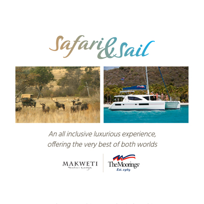 Safari and sails promotion